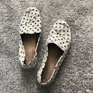TOMS Polka Dot Shoes